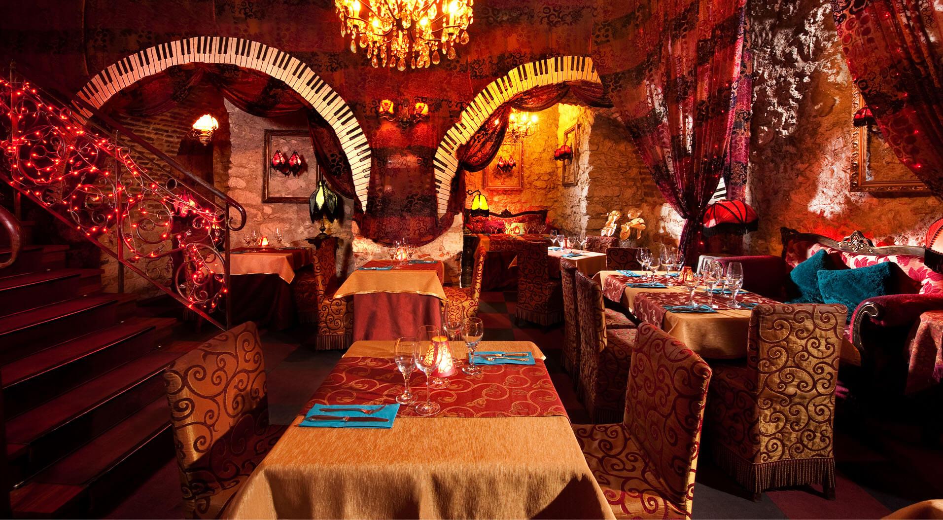 Slider zdjęcie 0 - The Piano Rouge Kraków